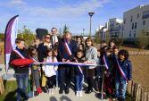 Le nouveau parc de Gargenville inauguré