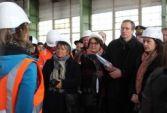 Cécile Duflot à Mantes Université: première signature de cession de foncier RFF