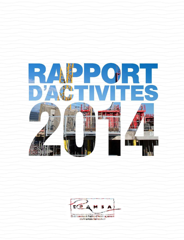 79e8322e52192a Le rapport d activité 2014 est sorti